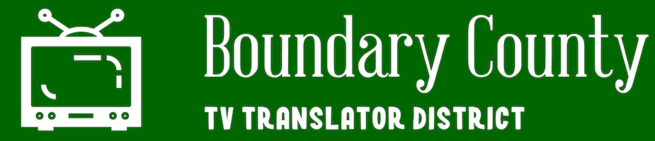 Boundary County Translator District